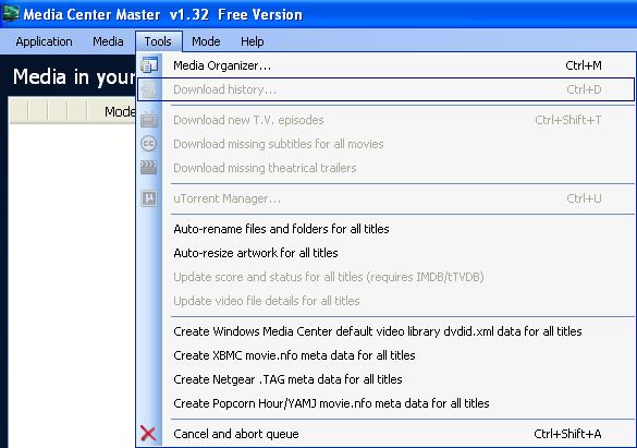 Media Center Master user-driven wiki